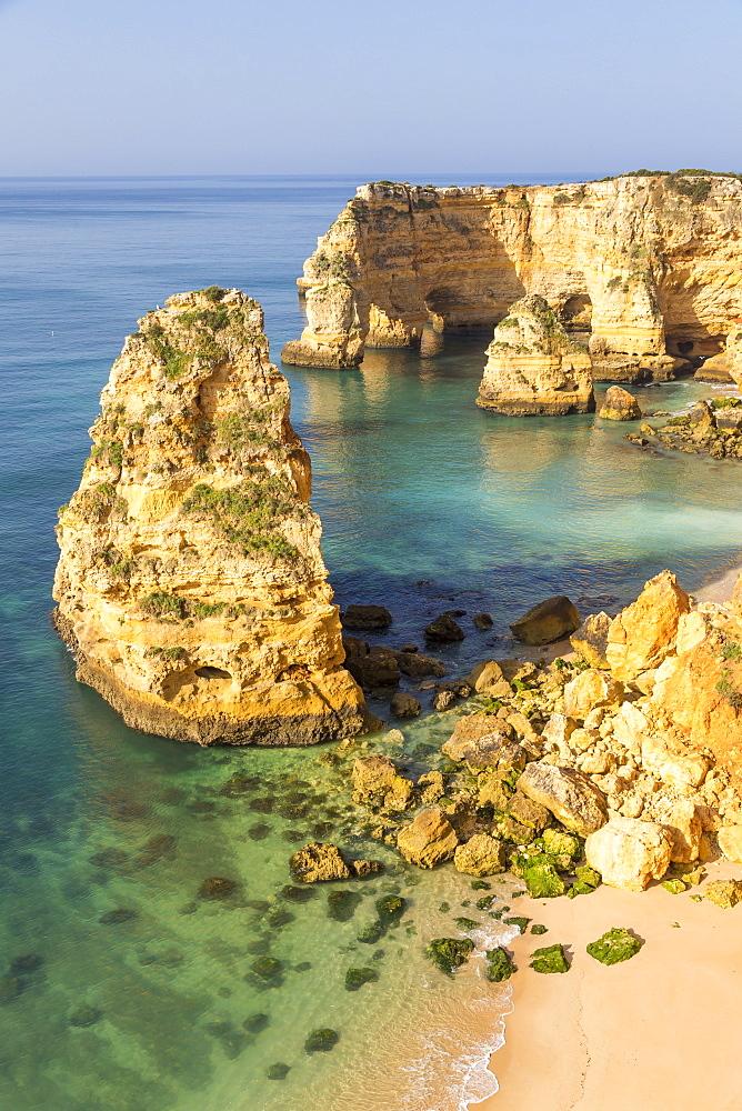 Marinha Beach (Praia da Marinha), Lagoa, Algarve, Portugal, Europe