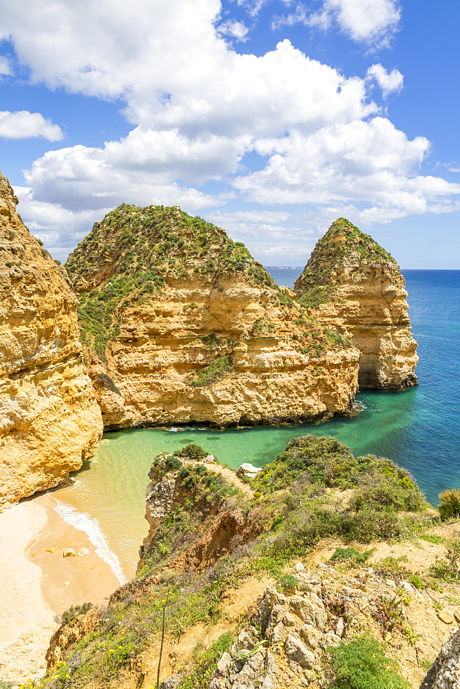 Pinheiros Beach, Lagos, Algarve, Portugal, Europe