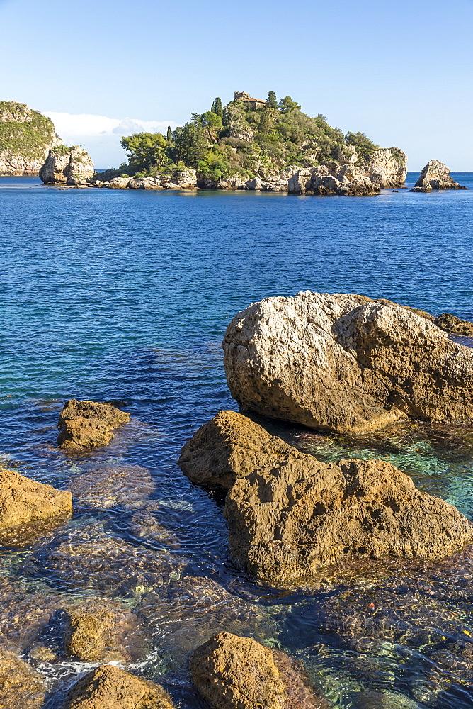 Isola Bella, Taormina, Sicily, Italy, Europe
