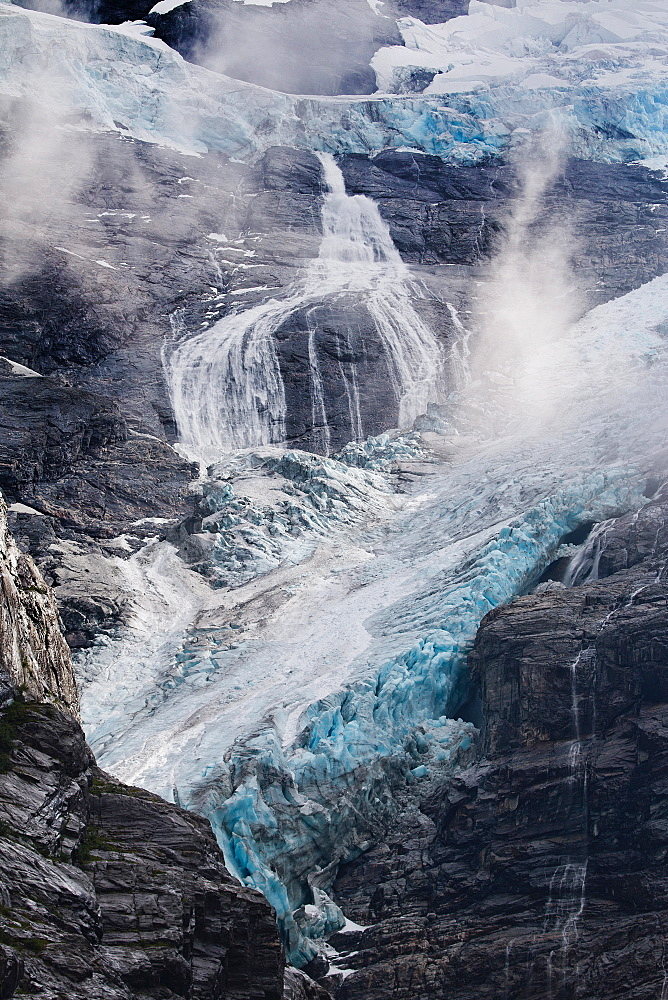 Kjenndal Glacier and surrounding, Norway