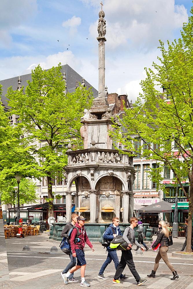 Perron, Liege, Belgium, Europe