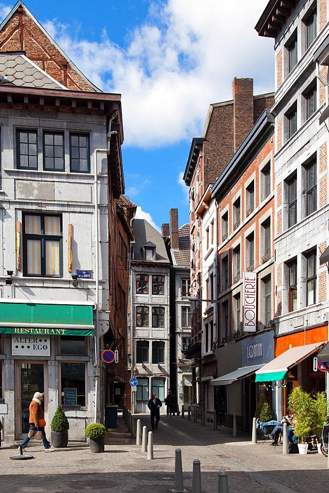 Rue de la Bucherie, Liege, Belgium, Europe