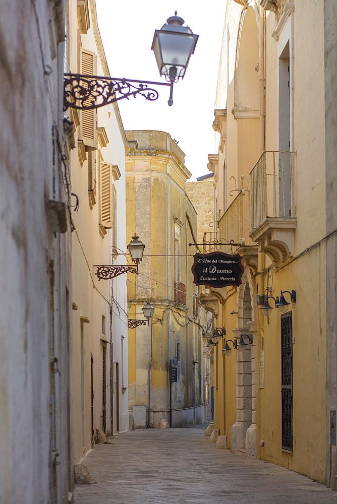 Via Cavour, Ugento, Puglia, Italy, Europe