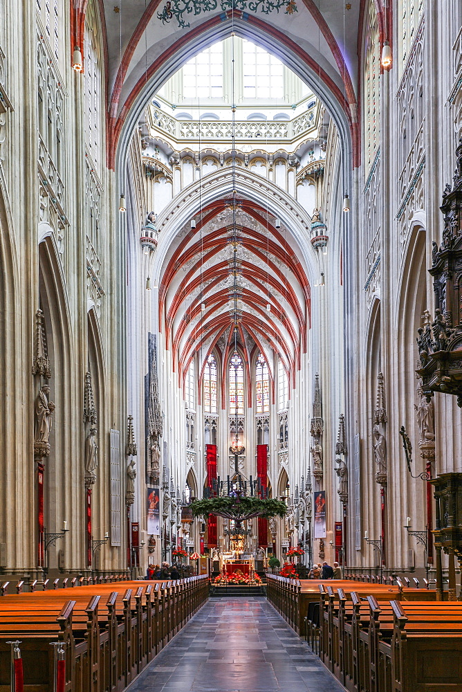St. John Cathedral, Den Bosch, The Netherlands, Europe - 1292-1455