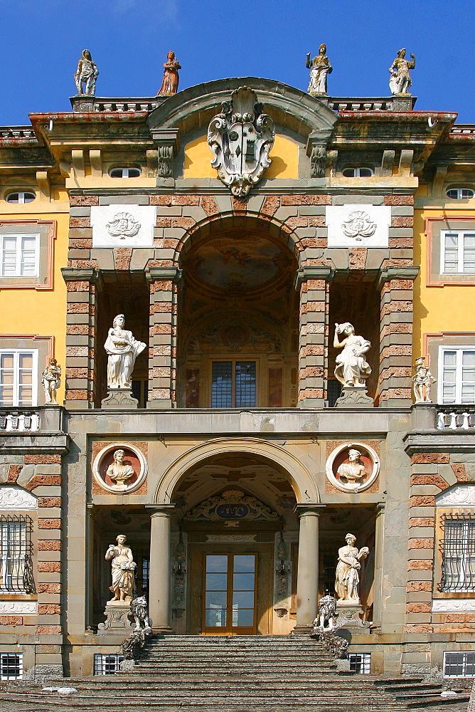 Villa di Camigliano (Villa Torrigiani) Capannori, Lucca, Tuscany, Italy, Europe - 1292-1519