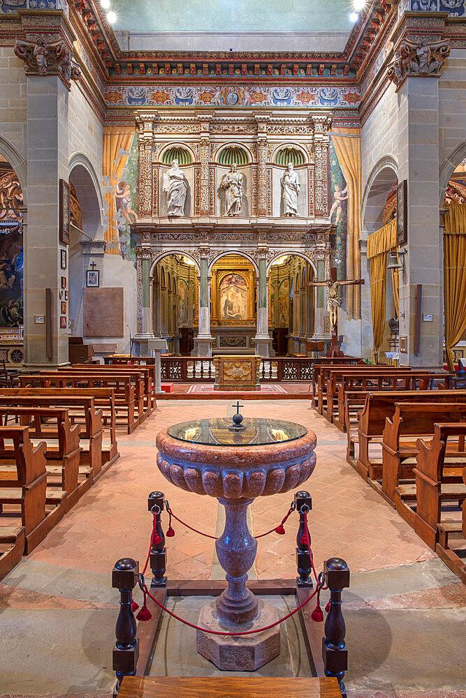 Sanctuary of the Madonna di Mongiovino, Panicale, Umbria, Italy