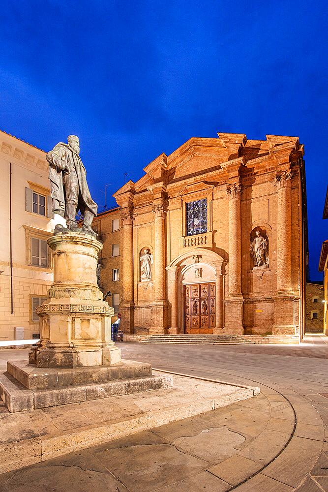Piazza Garibaldi, Foligno, Perugia, Umbria, Italy, Europe