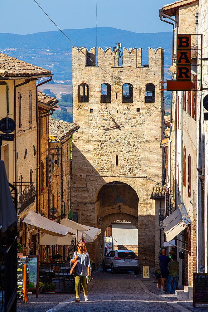 Porta Sant'Agostino, Montefalco, Perugia, Umbria, Italy