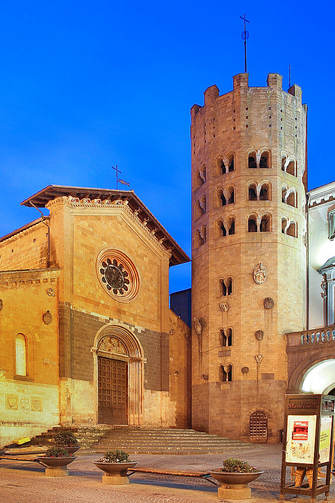 St. Andrea church, Orvieto, Terni, Umbria, Italy, Europe - 1292-1640