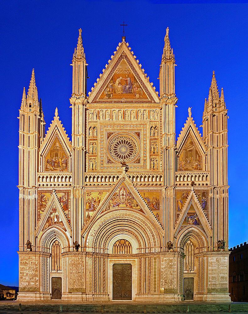 Cathedral of Santa Maria Assunta, Orvieto, Terni, Umbria, Italy