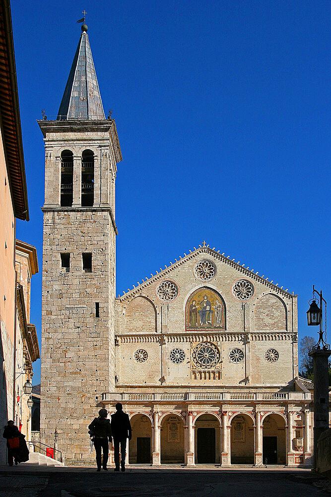 Cathedral of Santa Maria Assunta, Spoleto, Perugia, Umbria, Italy, Europe - 1292-1650