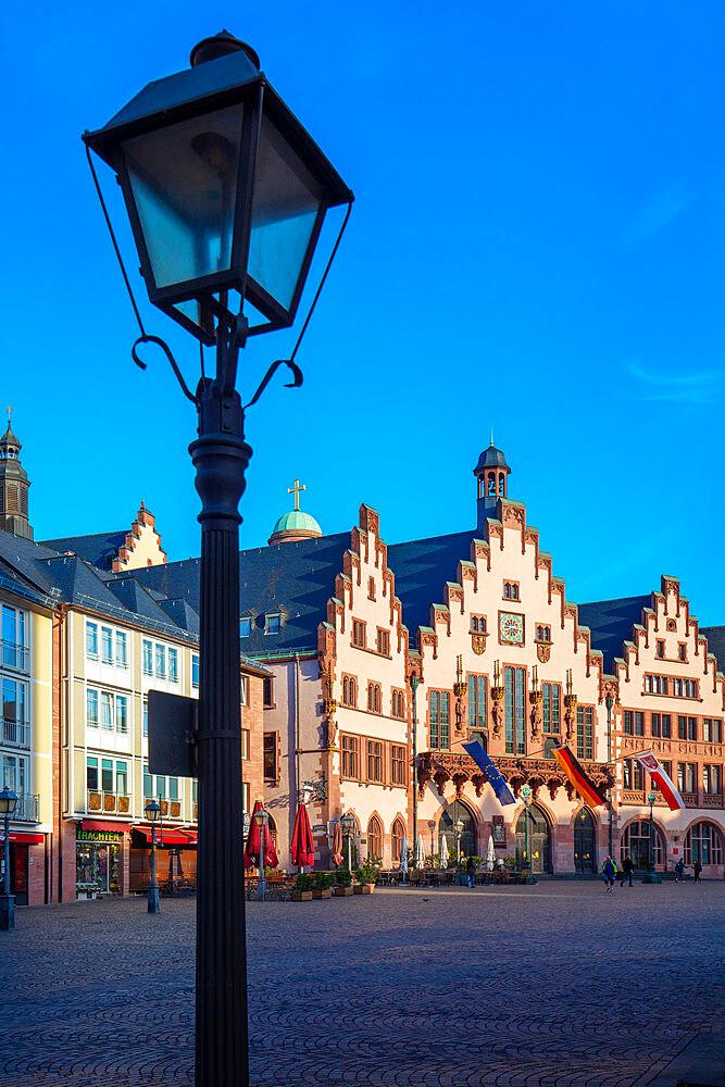The Romerberg, Frankfurt am Main, Hesse, Germany, Europe - 1292-1653