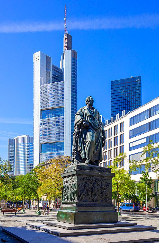 Goetheplatz, Frankfurt am Main, Hesse, Germany, Europe - 1292-1655