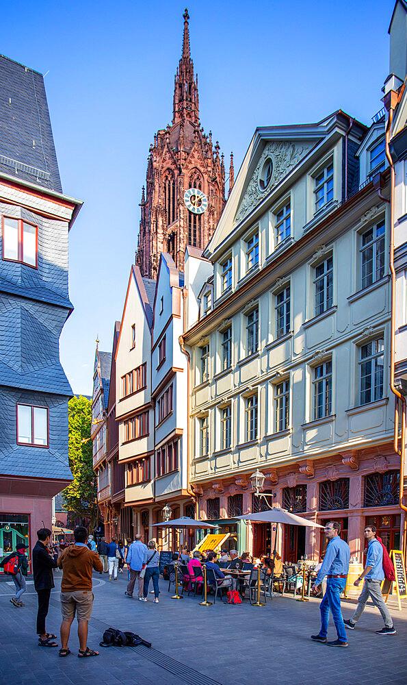 New Old town, Frankfurt am Main, Hesse, Germany, Europe - 1292-1659