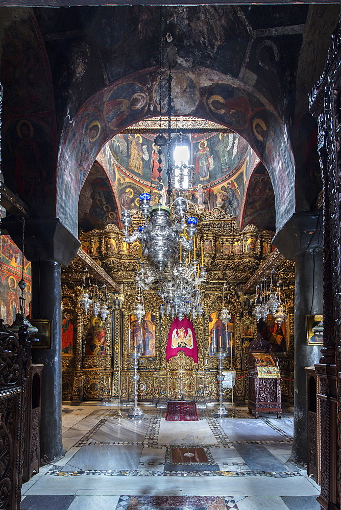 The Monastery of Saint John the Theologian,The Main Church, Patmos, Greece