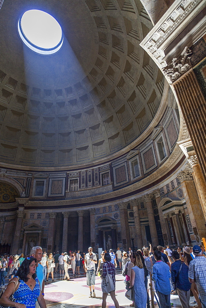 Pantheon, UNESCO World Heritage Site, Rome, Lazio, Italy, Europe