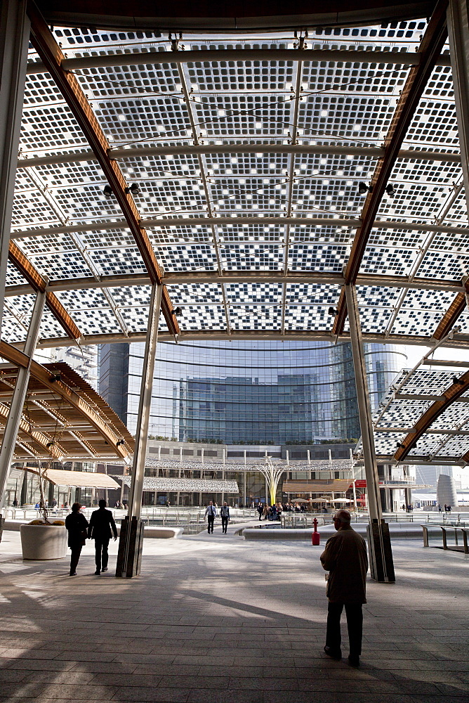 Piazza Gae Aulenti,Porta Nuova district,Milano, Lombardia, Italy