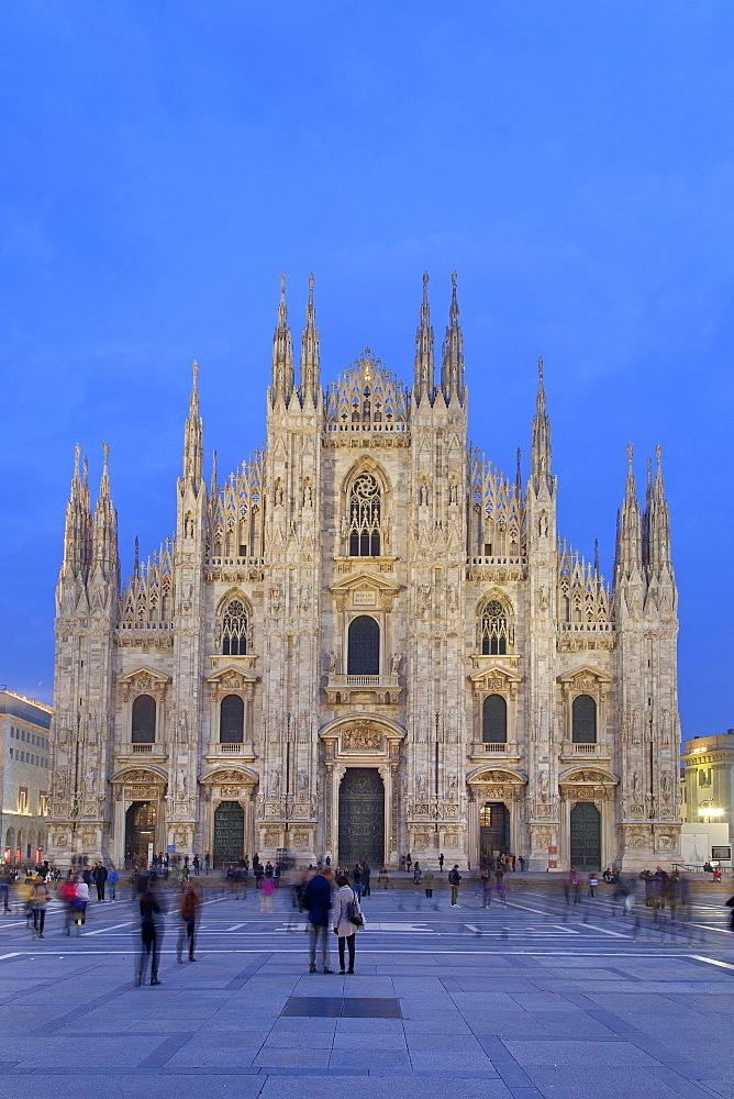 The Cathedral (Basilica Cattedrale Metropolitana della Nativite della Beata Vergine Maria) (Duomo), Milan, Lombardy, Italy, Europe