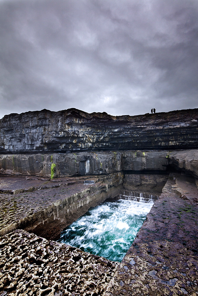 Serpent's Lair, Inish More, Aran Islands, Republic of Ireland, Europe