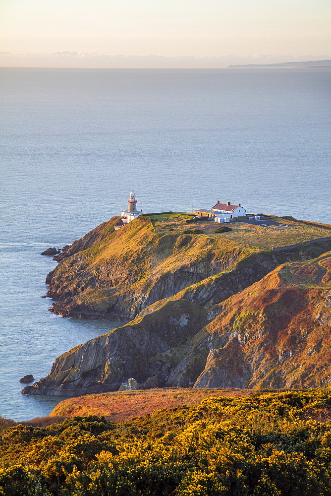 The Baily Lighthouse, Howth Head, Howth, County Dublin, Leinster, Republic of Ireland, Europe