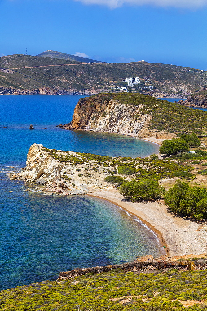 Livadi Liginou Beach, Patmos, Dodecanese, Greek Islands, Greece, Europe