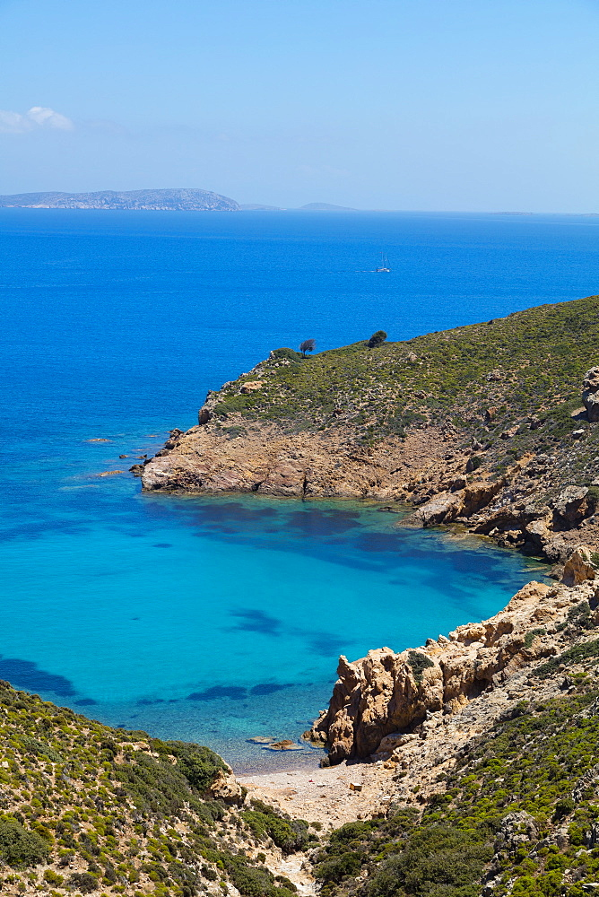 Lemonou coast, Patmos, Dodecanese, Greek Islands, Greece, Europe