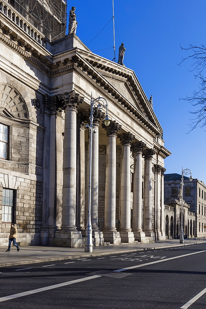 The Four Courts, Dublin, Republic of Ireland, Europe
