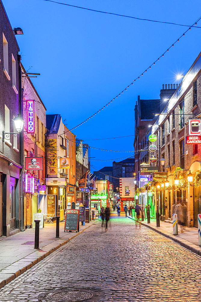 Temple Bar, Crown Alley, Dublin, Republic of Ireland, Europe