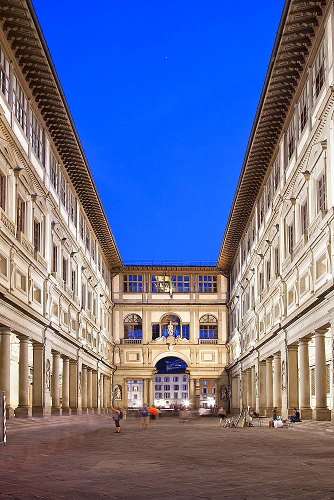 Uffizi, Florence, UNESCO World Heritage Site, Tuscany, Italy, Europe