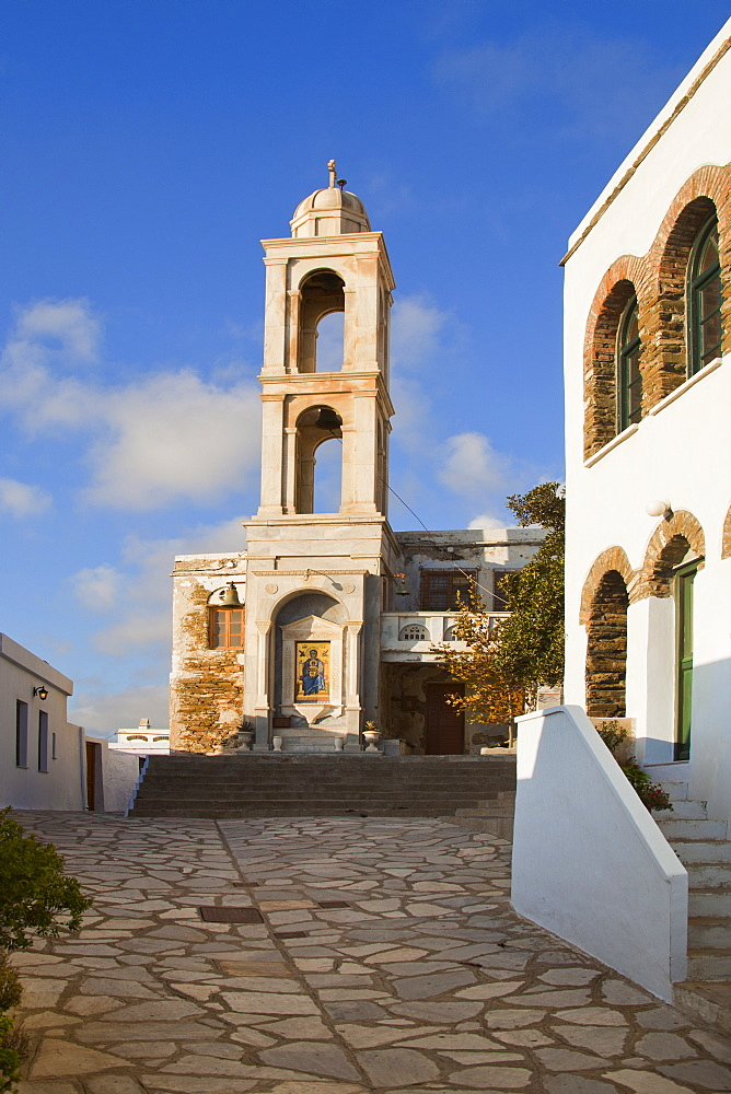 Monastery Kehrovouniou, Tinos Island, Cyclades, Greek Islands, Greece, Europe