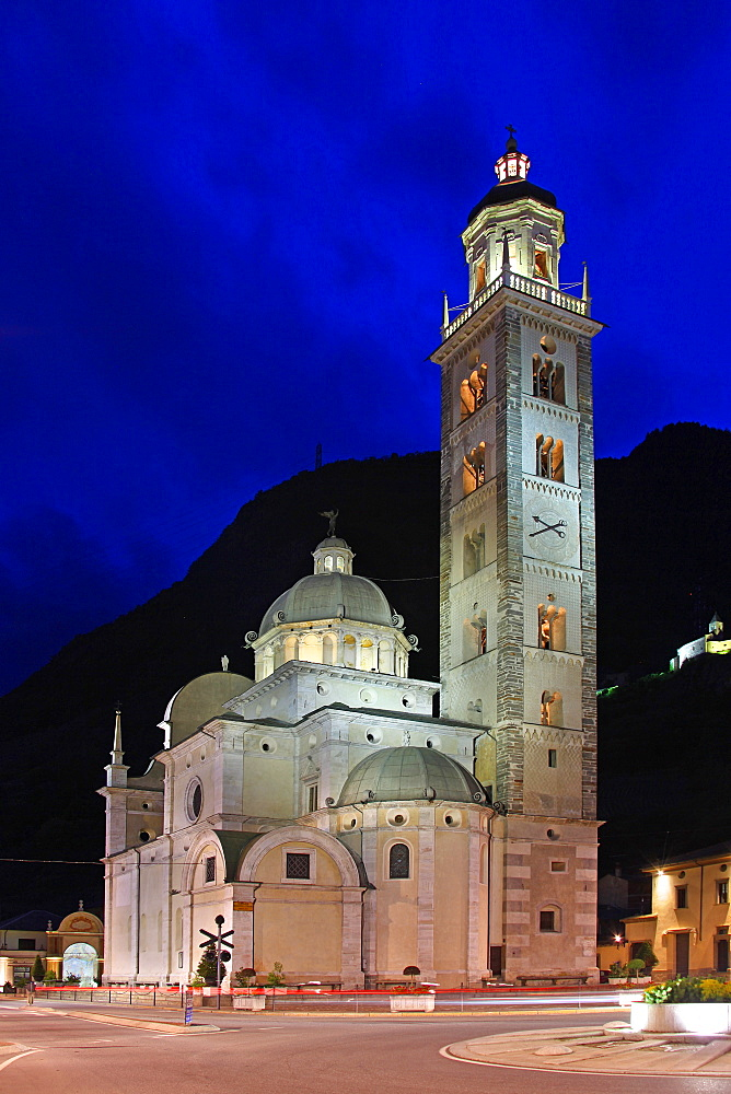 The Sanctuary of Our Lady of Tirano, Lombardy, Italy, Europe