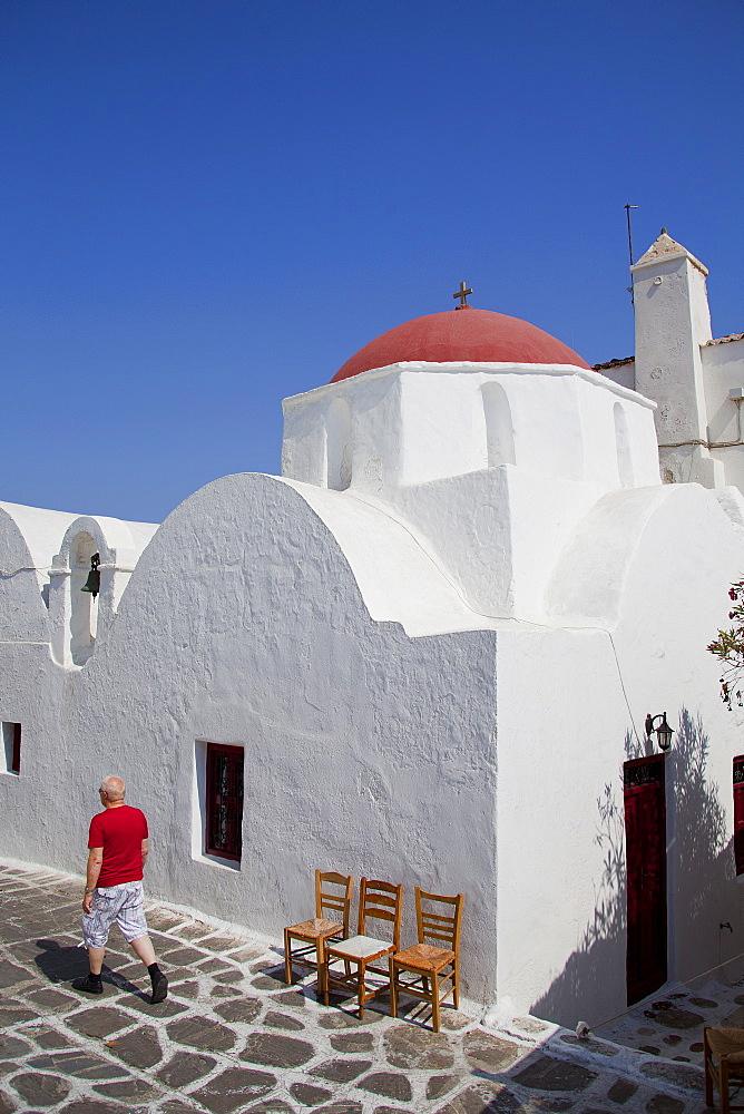 Chora of Mykonos, Cyclades, South Aegean, Greek Islands, Greece, Europe