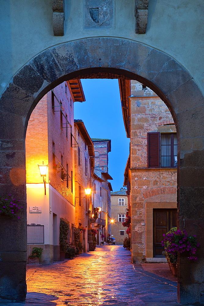 Porta al Prato, Pienza, Tuscany, Italy
