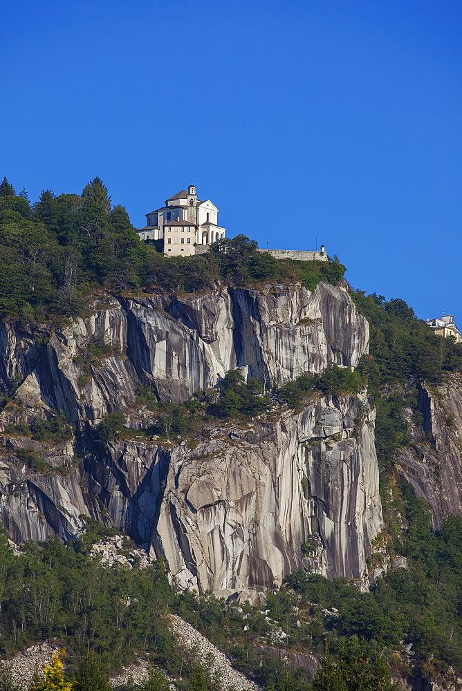 Church of Madonna del Sasso, Orta lake, Piemonte, Italy