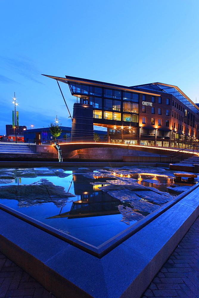 Tjuvholmen district, Oslo, Norway