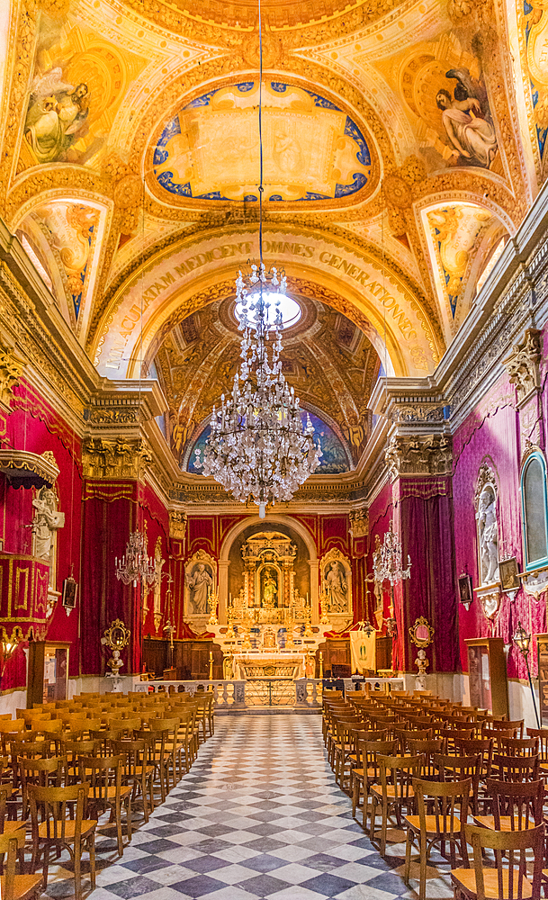 The Chapel of the Immaculate Conception, Menton, Alpes Maritime, Provence Alpes Cote d'Azur, French Riviera, France, Mediterranean, Europe - 1297-1024