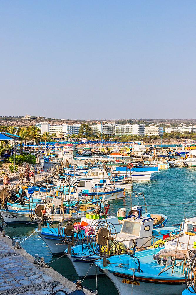 Ayia Napa Harbour Limanaki in Agia Napa in Cyprus, Europe - 1297-1095