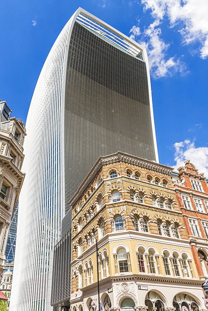 20 Fenchurch Building (the Walkie Talkie building), City of London, London, England, United Kingdom, Europe