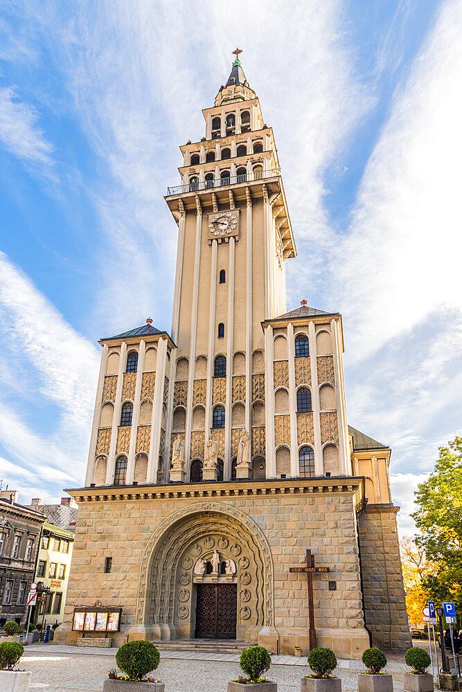 Cathedral of St. Nicholas, Bielsko Biala, Silesian Voivodeship, Poland, Europe - 1297-1126