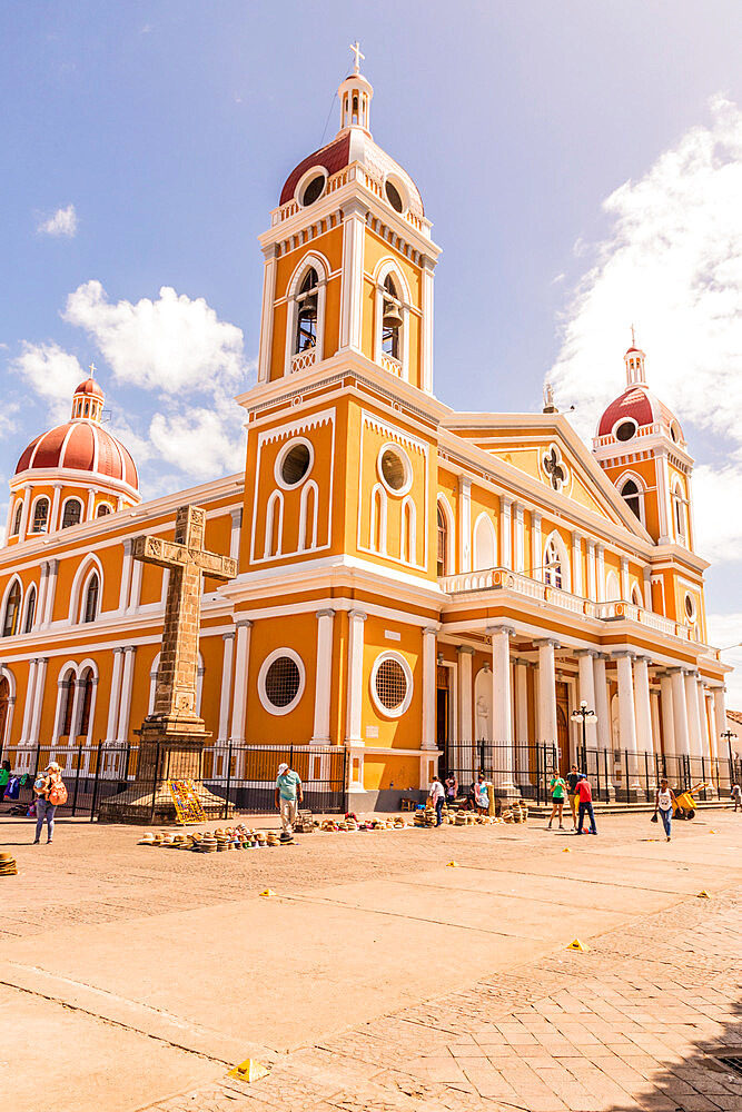 Our Lady of the Assumption Cathedra in Granada, Nicaragua, Central America