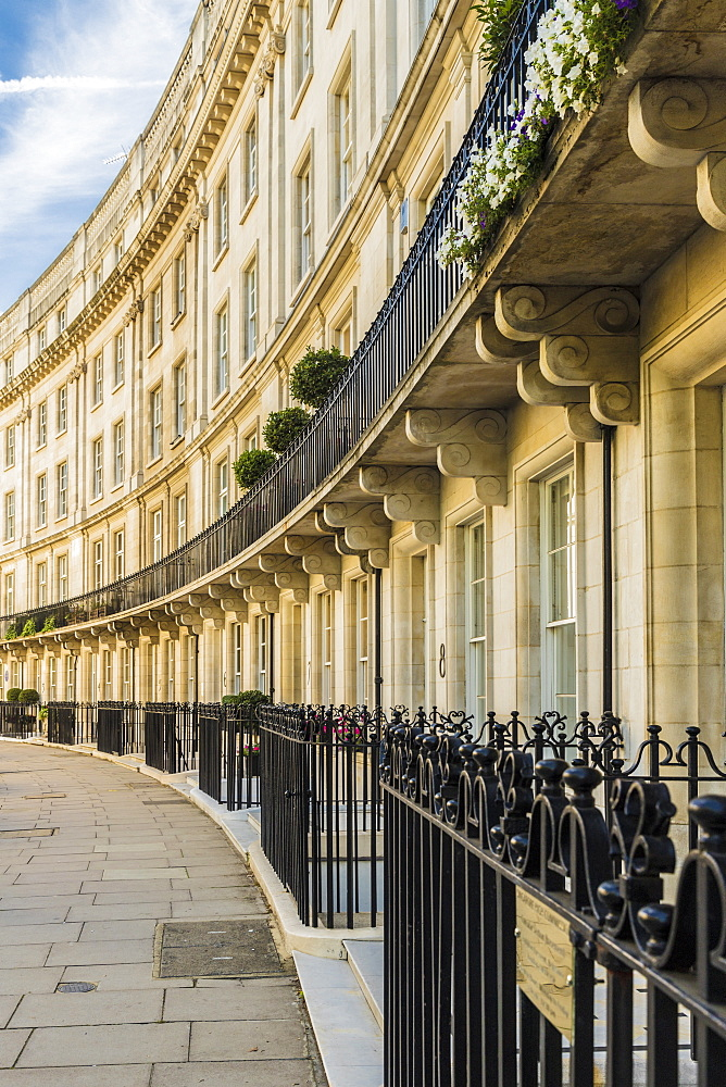 Typically grand architecture in Belgravia, London, England,United Kingdom, Europe. - 1297-195