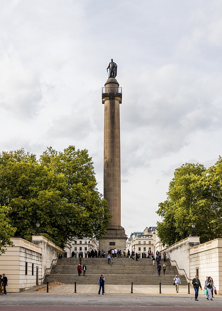 The Duke of York Column, Waterloo Place, London, England, United Kingdom, Europe
