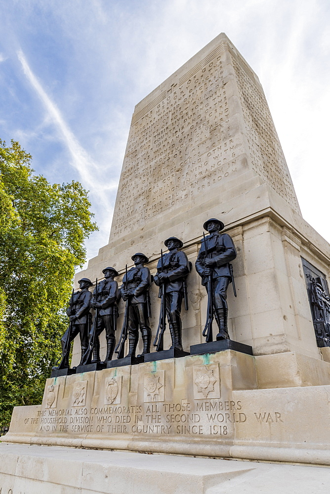 The Guards Memorial on Horse Guards Parade, London, England, United Kingdom, Europe