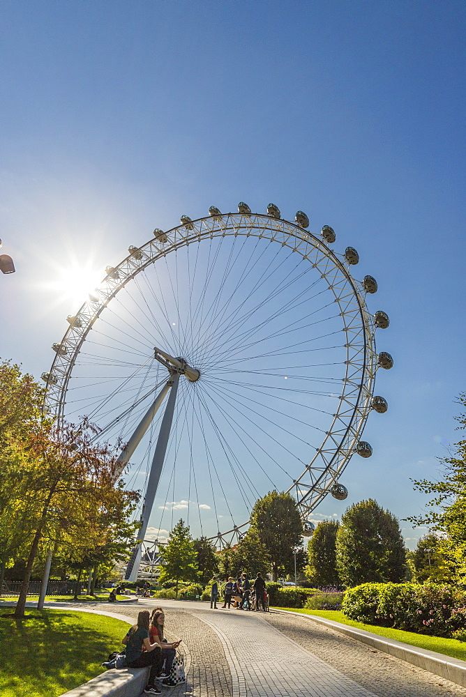 The London Eye (Millennium Wheel), London, England, United Kingdom, Europe