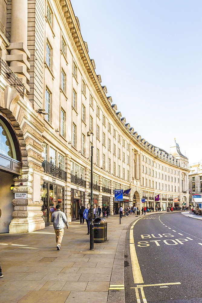 Regent Street, London, England, United Kingdom, Europe - 1297-427