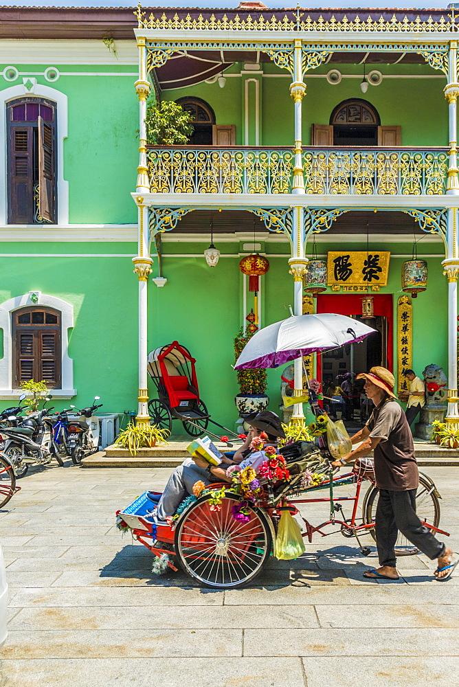 Pinang Peranakan Mansion in George Town, Penang Island, Malaysia, Southeast Asia, Asia