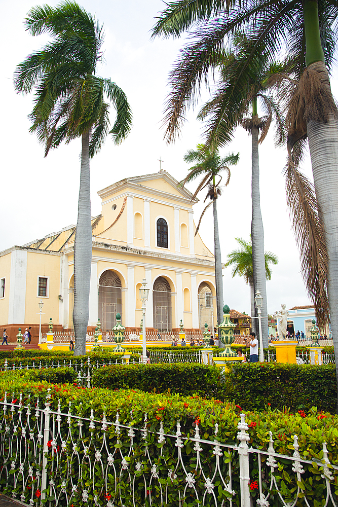 Church of the Holy Trinity in Trinidad, UNESCO World Heritage Site, Sancti Spiritus, Cuba, West Indies, Caribbean, Central America