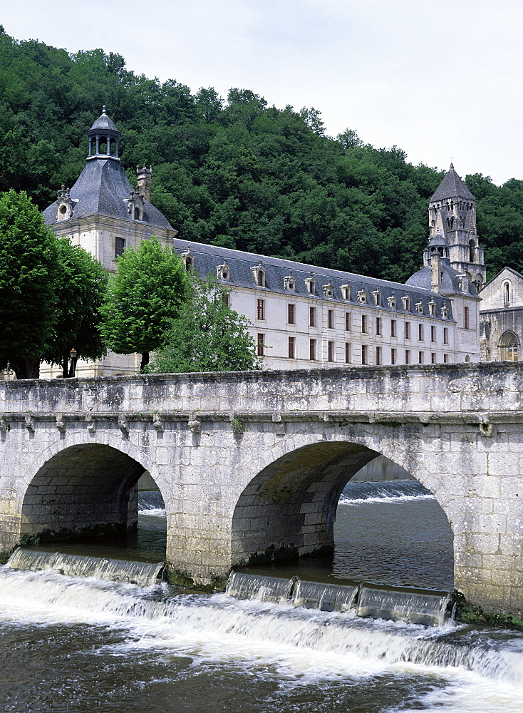 Brantome, Dordogne, Aquitaine, France, Europe - 132-897