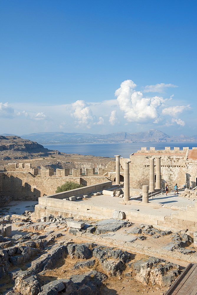 Acropolis of Lindos, Rhodes, Greece - 1331-101