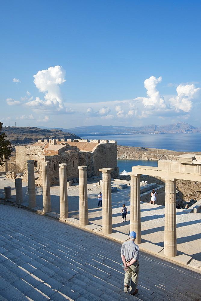 Acropolis of Lindos, Rhodes, Greece - 1331-103